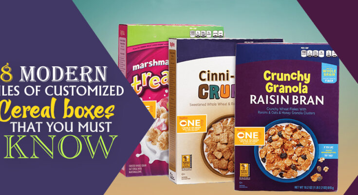 8 modern rules of customized cereal boxes that you